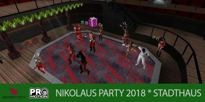 Nikolaus Party im Stadthaus