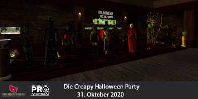 Die Creapy Halloween Party * 2020